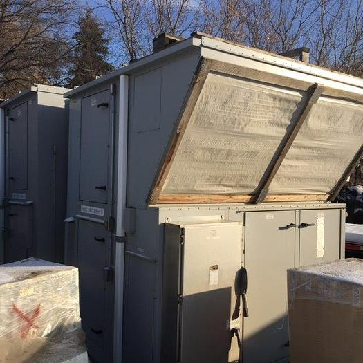 Two 20 ton ,135kW Unused rooftop HVAC air handling units