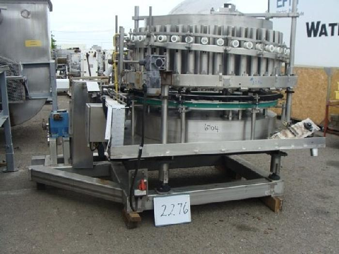 Used Zacmi 40-Valve Rotary Piston Filler