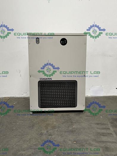 Used HASKRIS R250  7.5 KW Process Chiller Temperature Range 55-72 S/N HB22466