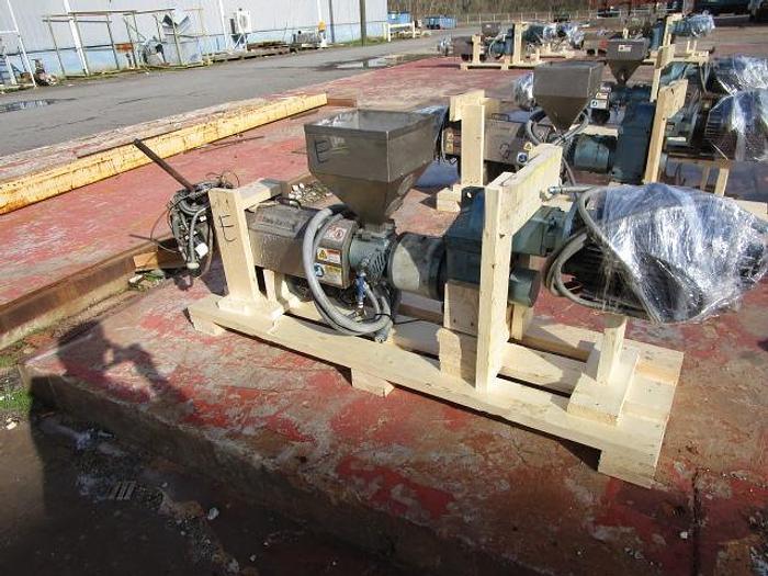 "Used 1 1/4"" Davis Standard Extruder 7.5 hp stock # 4756-021B"