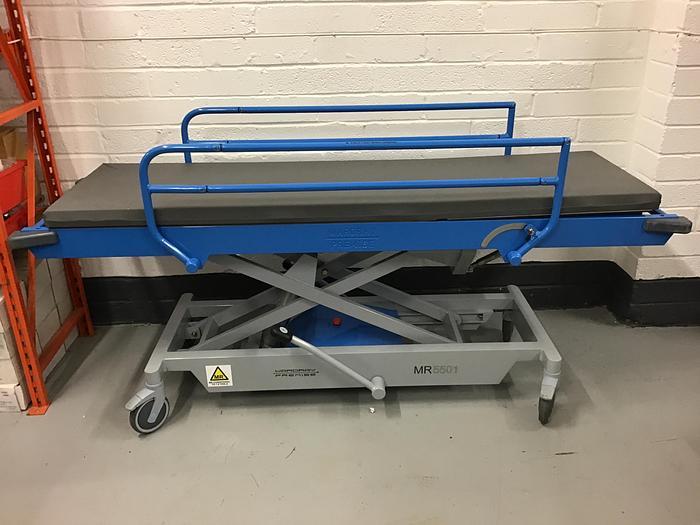 Used Wardray Adjustable Height Trolley MRI  MR5501