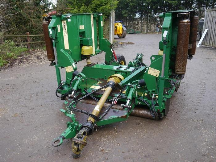 Used Major 12000 GM Rotary Topper
