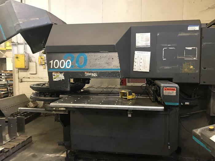 1996 22 Ton Strippit 1000/20 CNC Turret Punch
