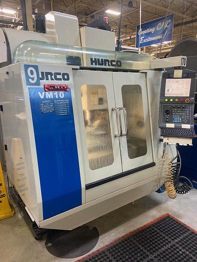 Used 2010 Hurco VM 10 Vertical CNC Mill VM 10