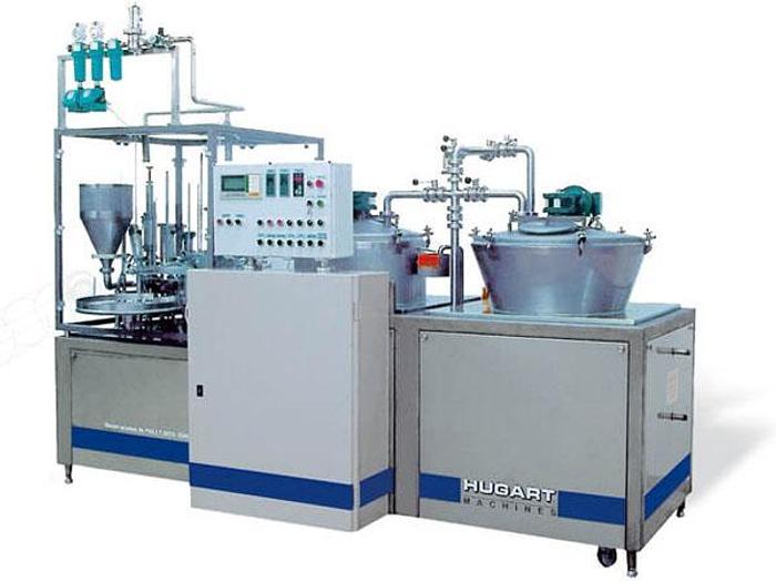 """Used Mikser, homogenizator, stabilizator, termizator, oraz pakowaczka w jednym - """"Hugart Machines"""" (obecne """"Trepko"""") Mixter 3000S"""