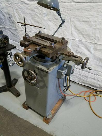 Used Thurston Model B3 Metal Router Machine Relieve Pocket Gusset Milling