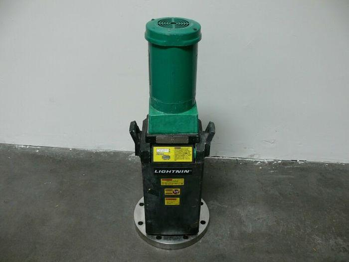 Used Lightnin Vektor V5S37 Mixer / Agitator .5 HP 1725RPM 290004