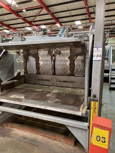 Used Box Tipper with Hydraulic Pack an Control Panel with guards and sensors
