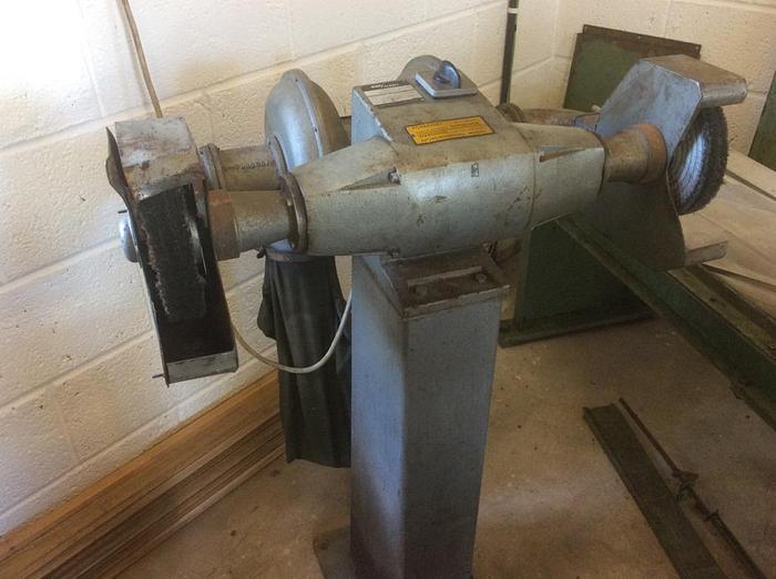 Used KEF POE8 Double Ended Polishing Machine