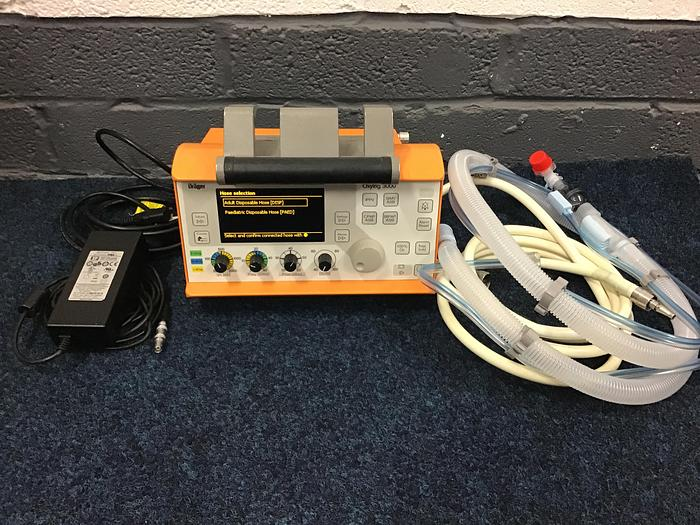 Used Drager Oxylog 3000