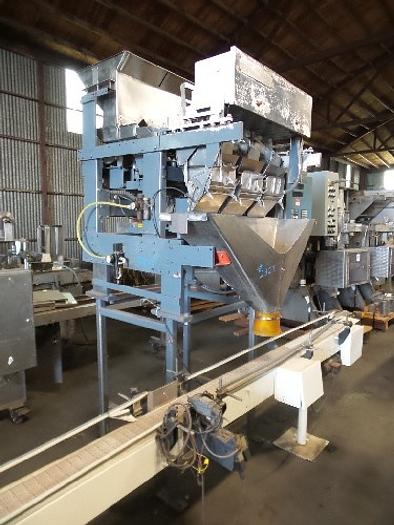 Used Triangle 3- Bucket Flexitron 1600 Linear Scale Filler