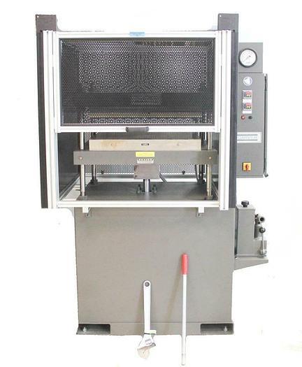 "Carver 5918 12 Ton Manual Heated Press w/ Platens 24"" x 24"" 230V/1PH NEW (7226)"