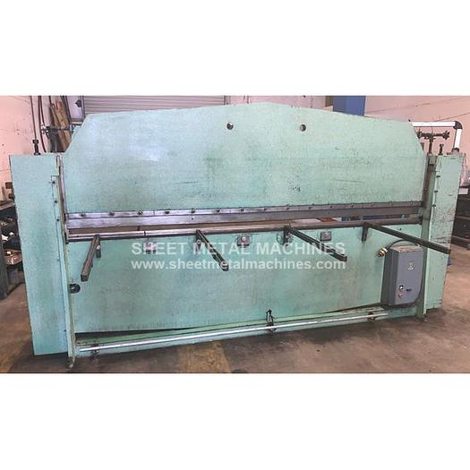"Used ROTODIE 120"" x 14 ga Press Brake #15"