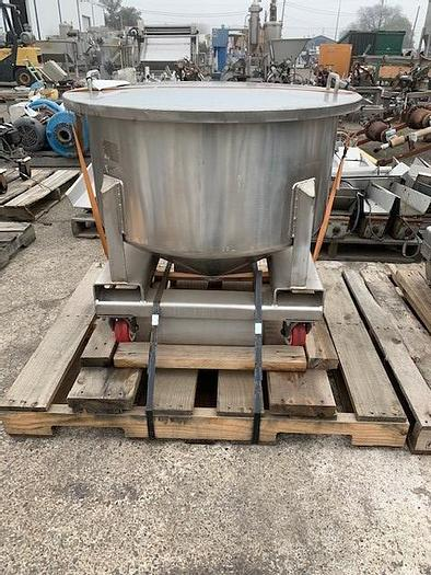 Used Stainless Steel Tote Tank