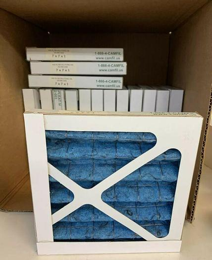 Air Filter 7x7x1in From Air Filter Solutions Inc. (Lot Of 16) Fast Shipping!
