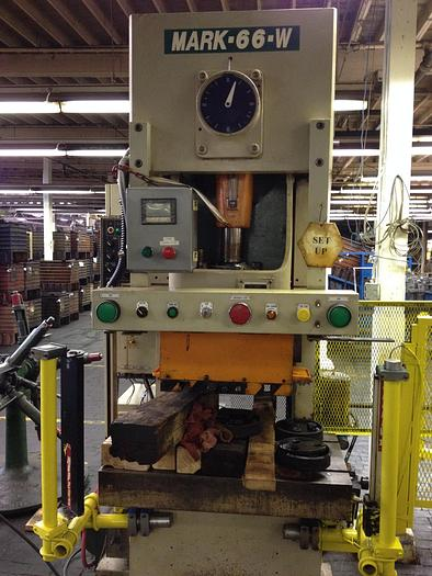 Used 66 TON SEYI/SUTHERLAND GAP FRAME PRESS