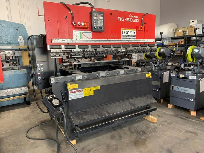 2005 55 Ton Amada RG-5020LD CNC Press Brake