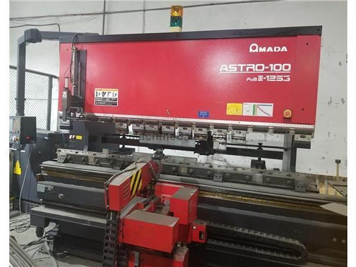 2001 138 Ton Amada Astro-100 FBD-III-1253 CNC Robotic Press Brake