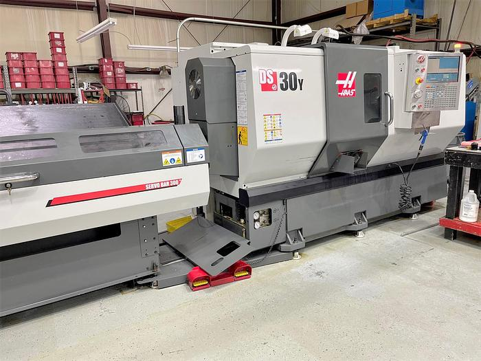 Used 2013 Haas DS-30Y with Bar Feeder
