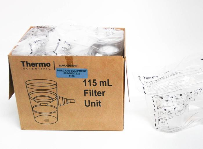 Thermo Scientific Nalgene 124-0045 Filter Unit 115ml NEW LOT OF 12 6176