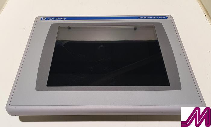2013 Allen Bradley Panelview Plus 1000 HMI Colour Touch Interface Panel 2711P-RDT10C