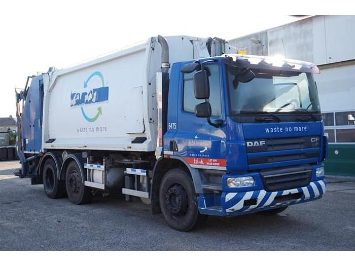 Used DAF CF75 / 6x2 / Garbage Truck / Geesink / Manual / EURO 5 / 333.887 km