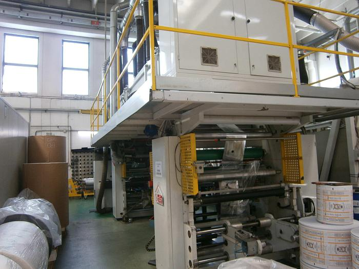 Used 2001 CARINT MINIFLEX 8 col. C.I  flexo (1010 mm)