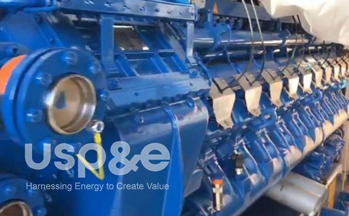 Used 2 MW 2018 Used MWM TCG2020V20 Natural Gas Generator Sets