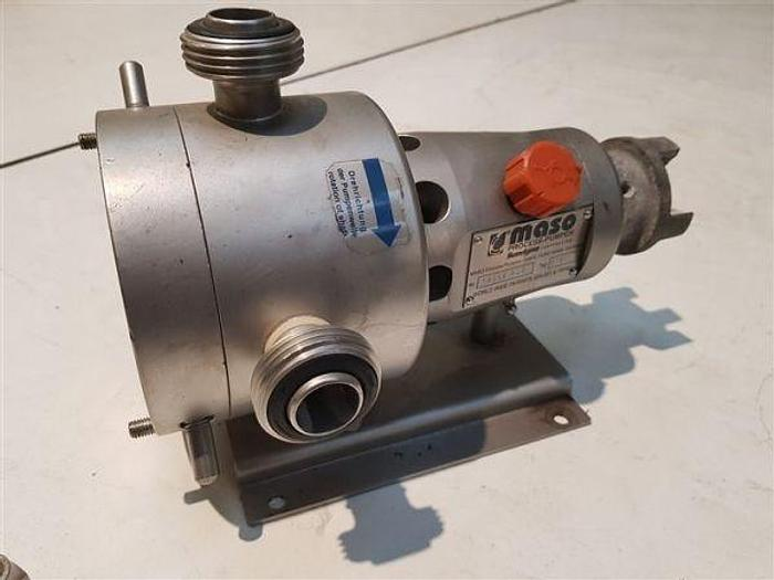 "Used Maso Sine SPS 1"" Pump Head Only"