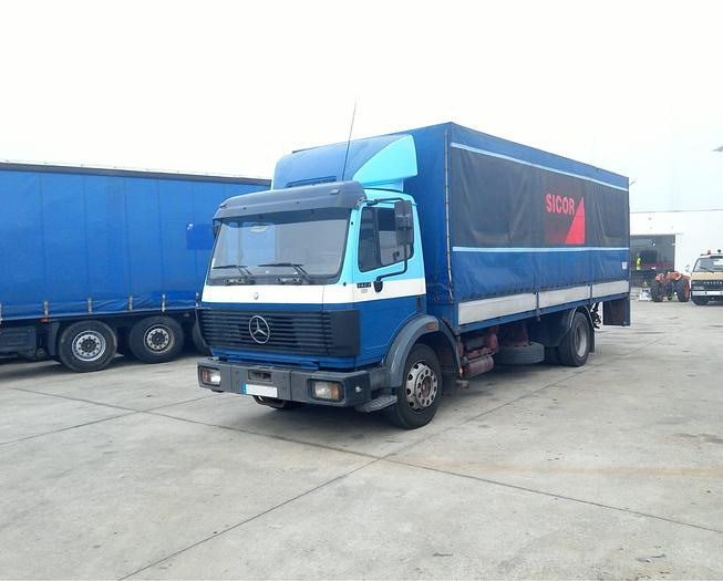 Used 1992 MERCEDES-BENZ 1422 curtainsider