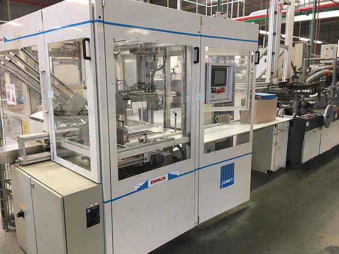 Used Jomet automatic packaging machine ENPACK V 1998