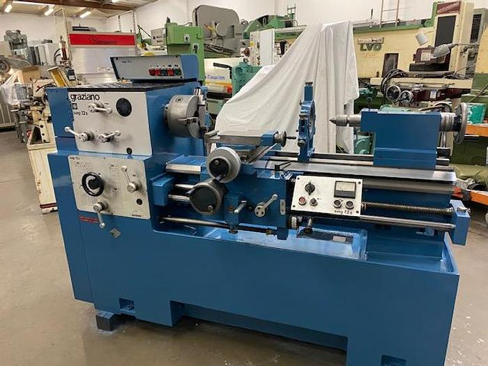 """Used 12""""/16"""" x 30"""", GRAZIANO SAG 12, 75 - 2000 RPM, 1-5/8"""" SPINDLE BORE, 3HP [5507]"""
