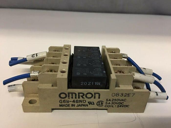 Used OMRON G6B-4BND POWER RELAY