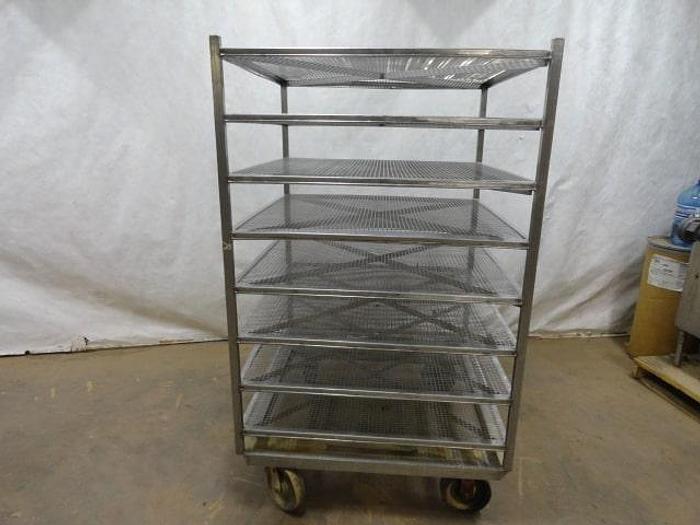 Used Stainless Steel Screen Racks