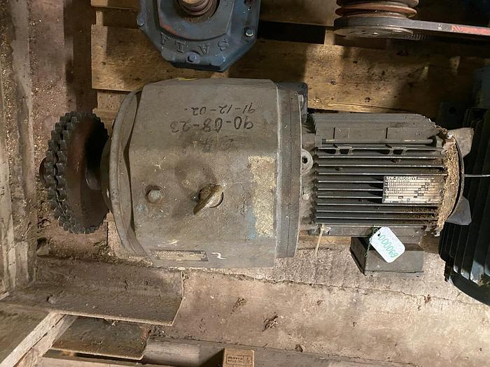 Used 4 kW, SEW-Eurodrive, Electric motor with reducer