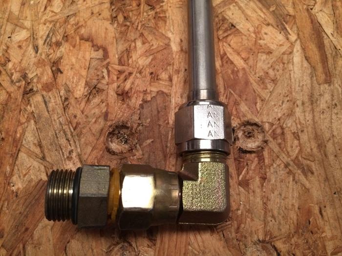 Capstone Turbine T1041 Pipe (P/N 511030-100)
