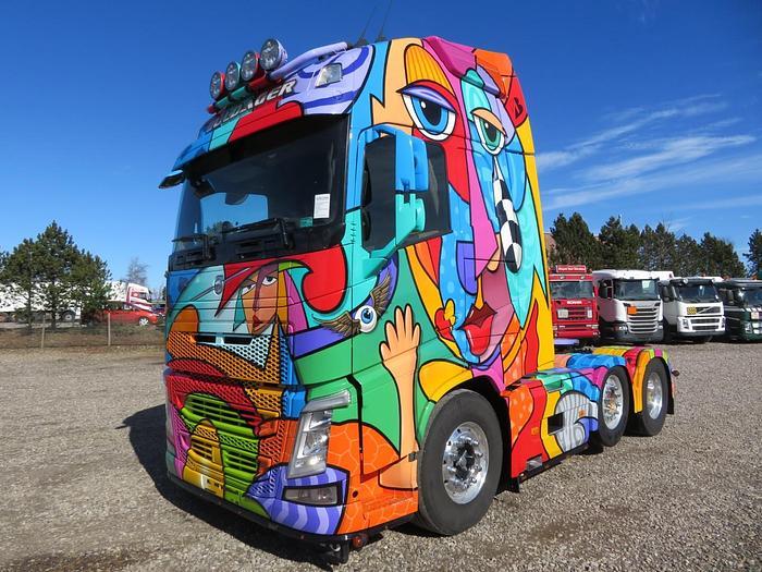 """Meget god 2013 Volvo FH500 6X2/2 EURO 5 """"GULDAGER ART"""""""