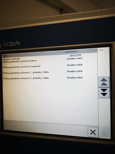 2009 KBA Performa 66-2