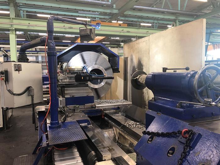 Gebraucht 1975 Heyligenstaedt & Comp  NDc-710/II/5x1500 CNC Schwerdrehmaschine