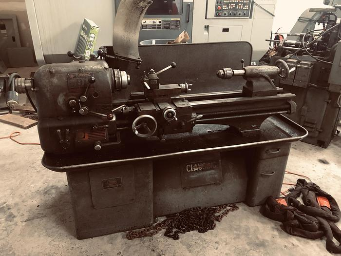 Used Clausing Colchester 1336 Engine Lathe 1336