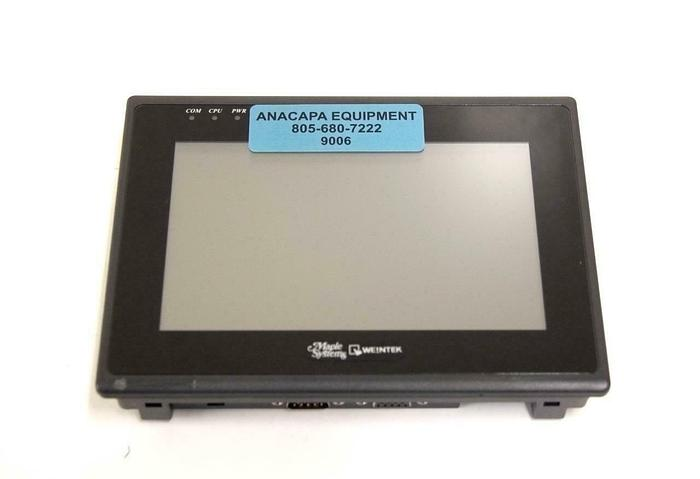 """Used Maple Systems HMI5070NH Operator Display 7"""" Touch LCD Widescreen USED (9006)R"""