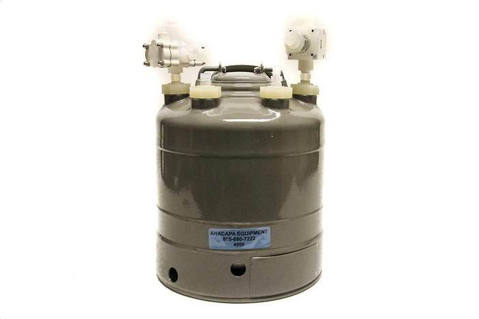 Used Alloy Products Corp B501-2836-00-V 2 Gallon Vessel 205PSI TEFZEL Coat (4006)