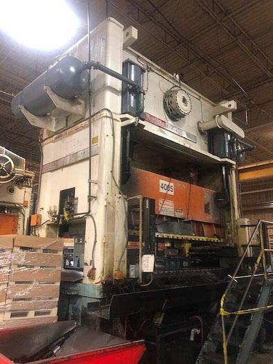 """Used 400 ton Niagara 144""""x72"""""""