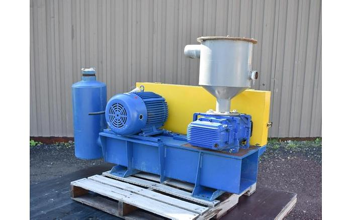 "USED ROTARY LOBE BLOWER, 4"" INLET & OUTLET"