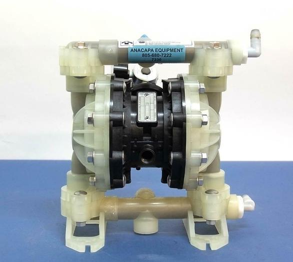 Used Graco D52966 Husky 515 Polypropylene Air Operated Double Diaphragm Pump (7330)R