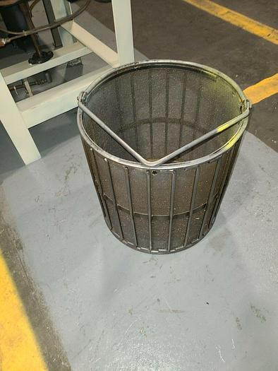 """Used New Holland K90 Large Chip Spinner Basket 18"""" BASKET ONLY NEEDS REPAIR"""