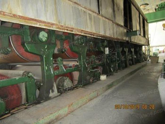 (PM2-90) - Paper machine Fourdrinier - 2550 mm