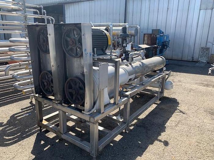 Votator Twin Barrel Scrape surface Heat Exchangers