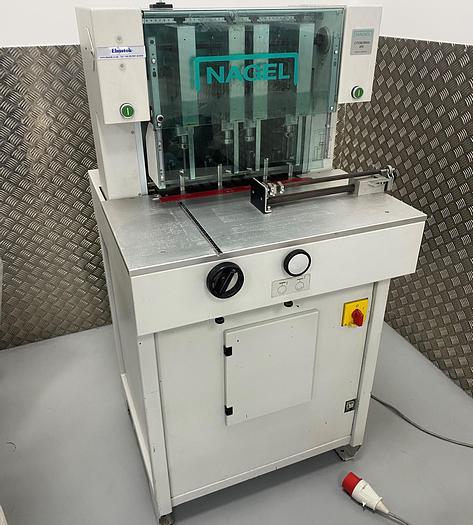 Used Nagel Citoborma 490 4-Head High Capacity Paper Drill