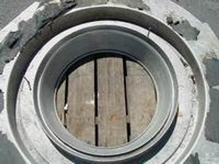 "Used 18"" Polysystem dual lip air ring."